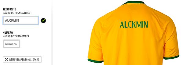482bfa9519 Nike veta imprimir nomes de políticos em camisa da seleção brasileira