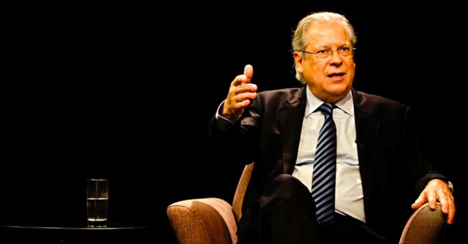 O ex-ministro José Dirceu, que está em São Paulo e terá de retornar a Brasília