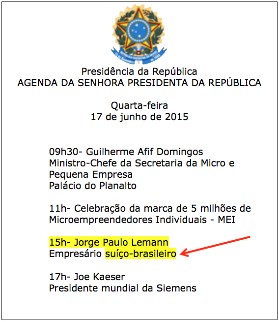 Planalto-Agenda-DilmaLemann-17jun2015