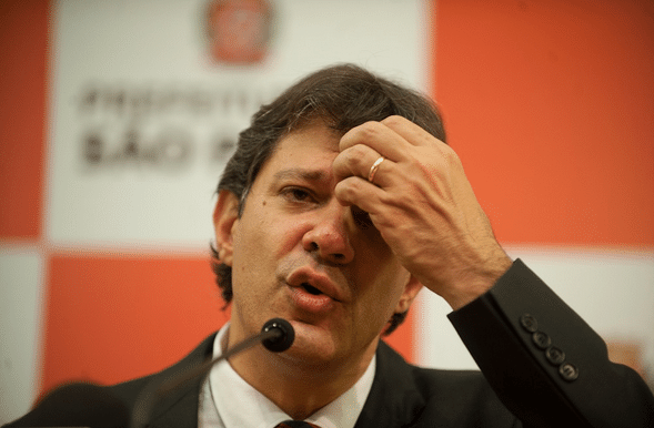 Fernando Haddad (PT-SP), prefeito de São Paulo / Marcelo Camargo/ABr