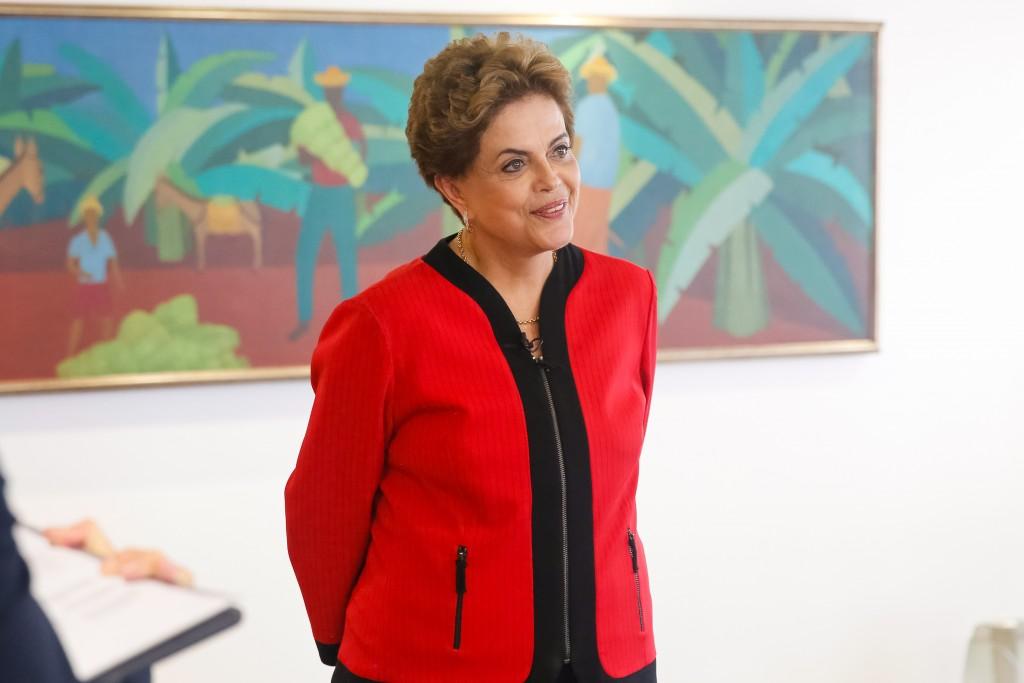 Brasília - DF, 22/01/2016. Presidenta Dilma Rousseff durante entrevista para o UOL. Foto: Roberto Stuckert Filho/PR