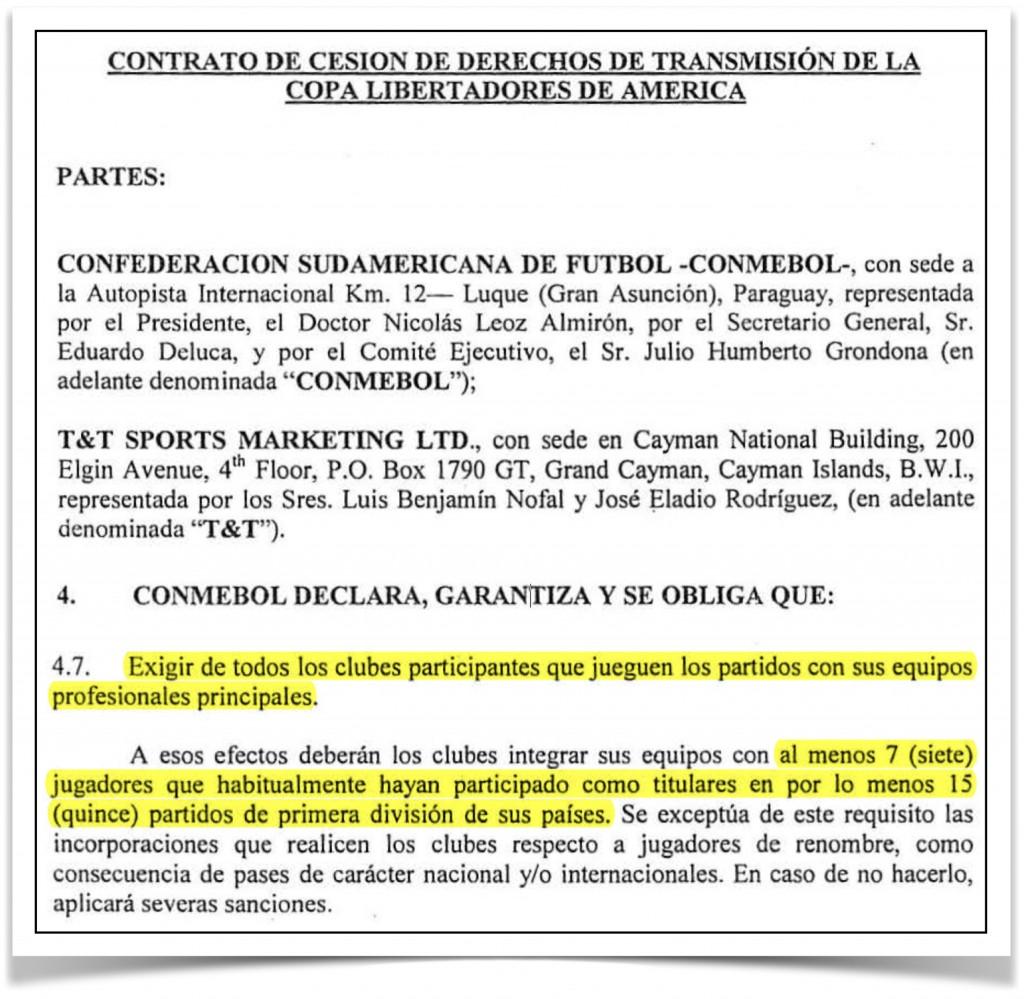 Contrato-TTSports-Conmebol-Libertadores-2006