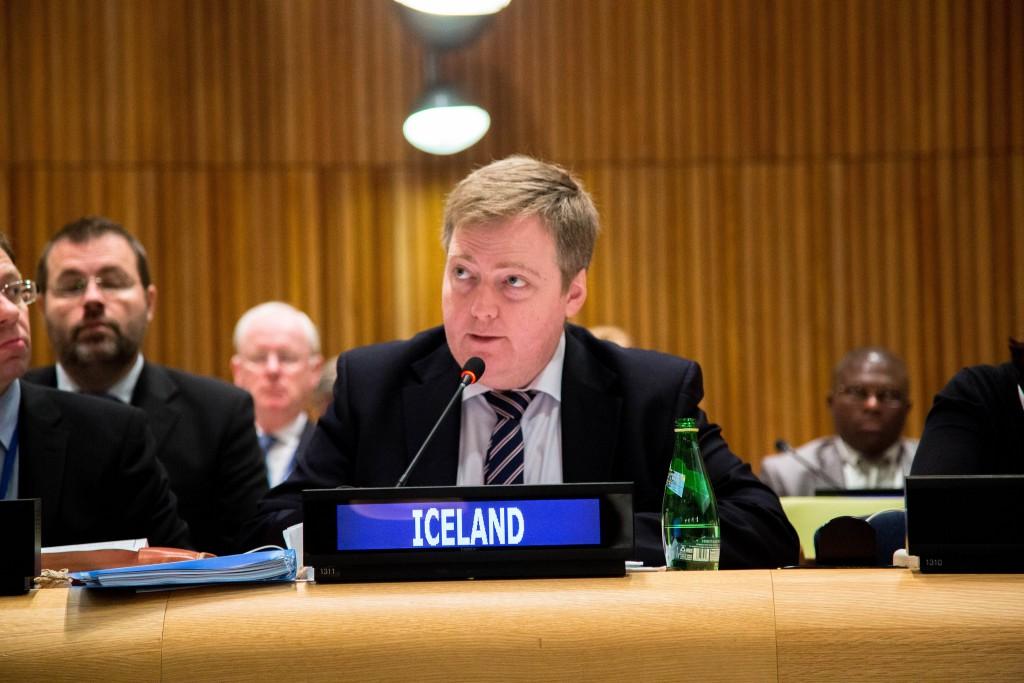primeiro-ministro da islandia
