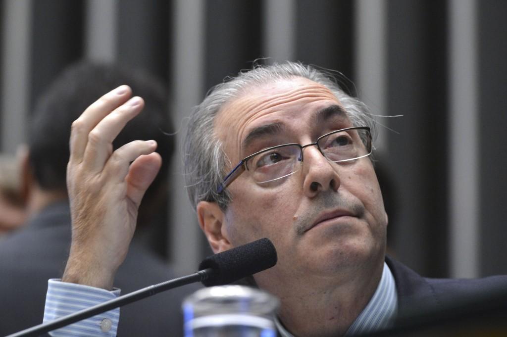 Brasília - O Presidente da Câmara dos Deputados, Eduardo Cunha preside Sessão Plenária (Antonio Cruz/Agência Brasil)