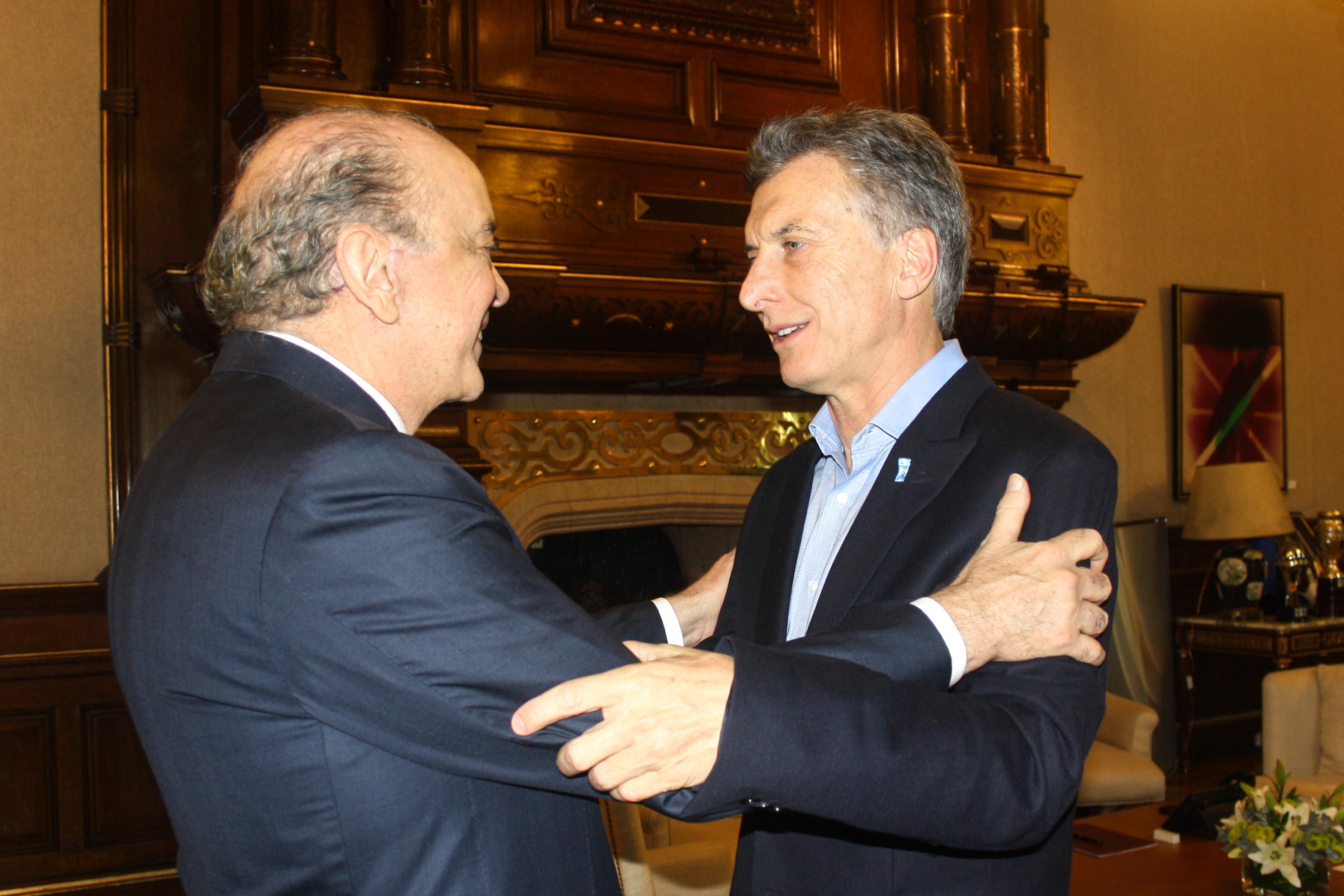 Viagem do Ministro das Relações Exteriores a Buenos Aires Visita do Ministro das Relações Exteriores José Serra a Buenos Aires. Foto: Embaixada do Brasil em Buenos Aires / MRE 23/05/2016