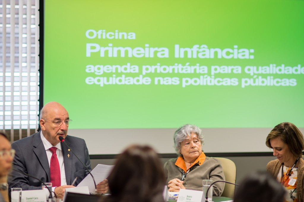 Ministro Osmar Terra participa da Oficina Primeira Infância Agenda Prioritária para Qualidade e Equidade nas Políticas Públicas na CAPES