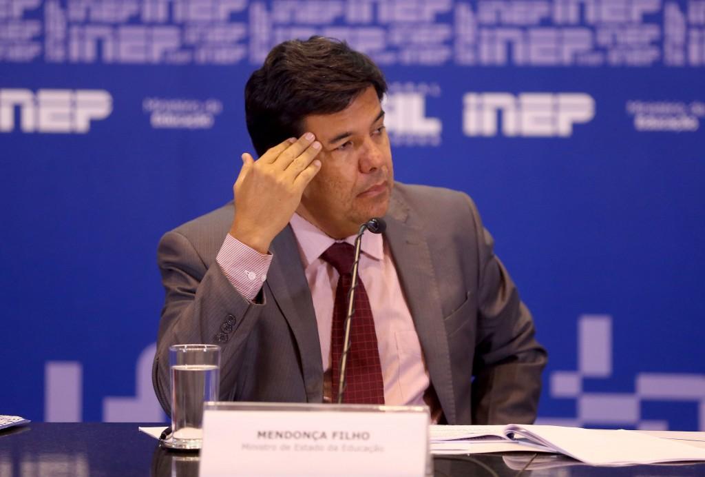 Brasília -  O ministro da Educação, Mendonça Filho faz um balanço das inscrições do Enem (Wilson Dias/Agência Brasil)