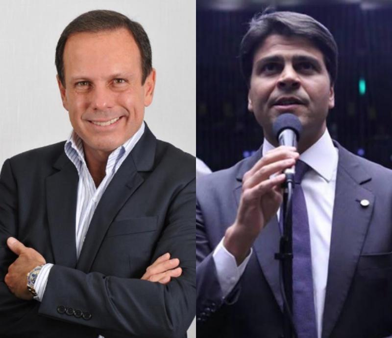João Doria (PSDB) e Pedro Paulo (PMDB) lideram disputa por tempo de TV em SP e no RJ