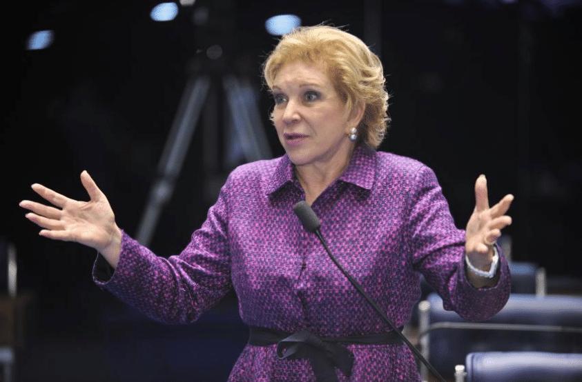 Senadora Marta Suplicy (PMDB-SP) teme candidatura de Celso Russomanno (PRB-SP)