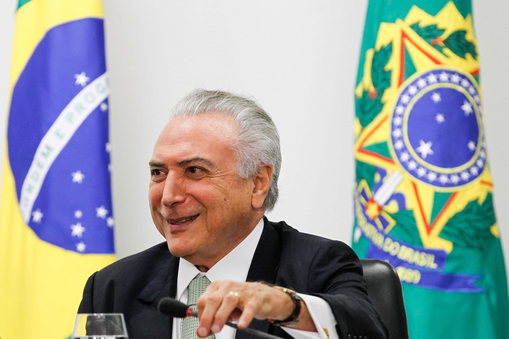 Brasília - DF, 26/07/2016. Presidente em Exercício Michel Temer durante reunião com ministros do Núcleo de Infraestrutura. Foto: Beto Barata/PR