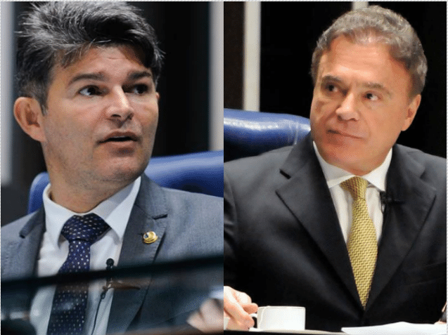Senadores Jose Medeiros e Alvaro Dias