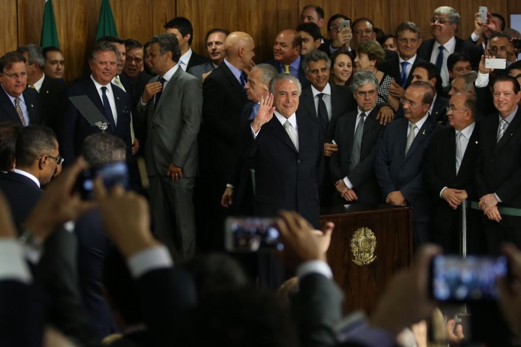 Posse de Michel Temer (Marcello Casal Jr/Agência Brasil)