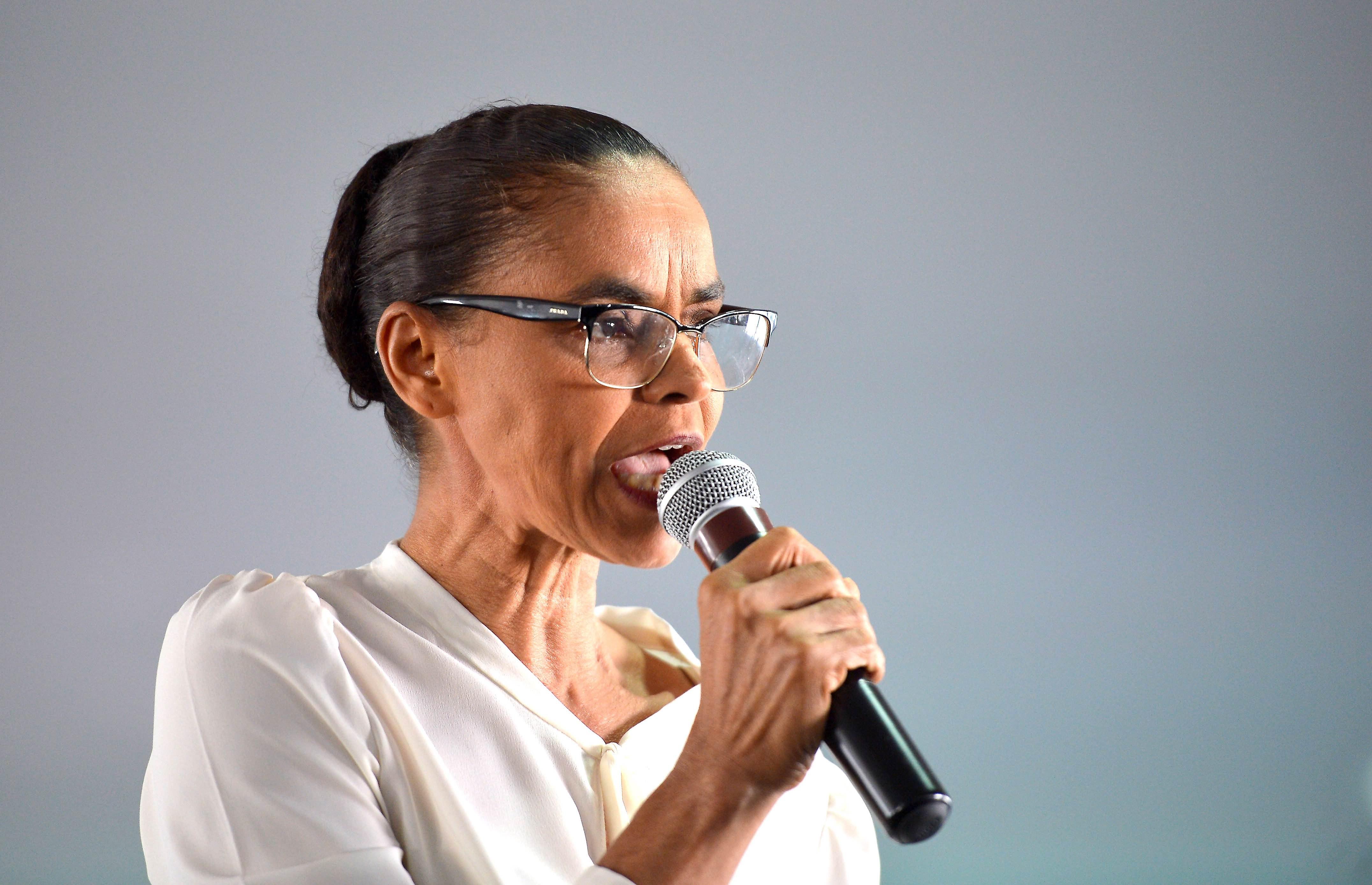 f0ed656f6e54c Brasília - Marina Silva da Rede Sustentabilidade lança a campanha Nem Dilma  Nem Temer, Nova