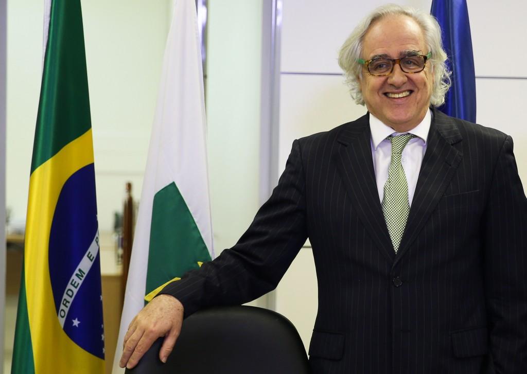 BRASÍLIA, DF, BRASIL, 20-05-2016, O Jornalista Laerte Rimoli assume a presidência da EBC Diretoria-geral será ocupada pela jornalista Christiane Samarco (Foto: Marcello Casal Jr/Agência Brasil)