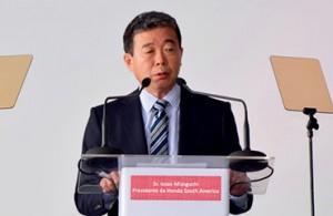 Issao Mizoguchi, presidente da Honda South America