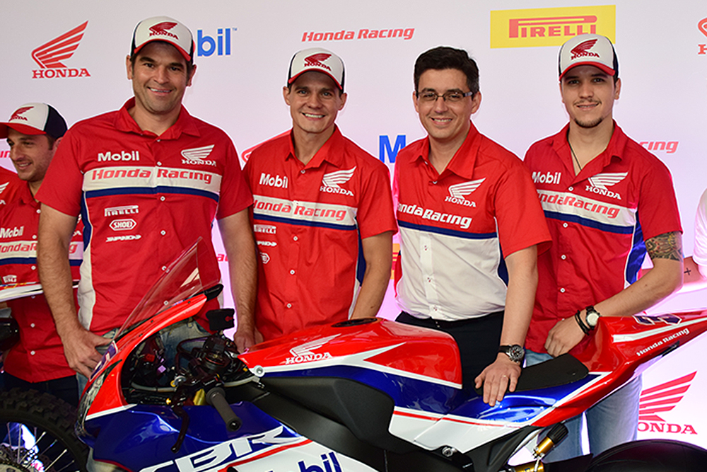 Pilotos oficiais da Honda na Motovelocidade, para a temporada 2015