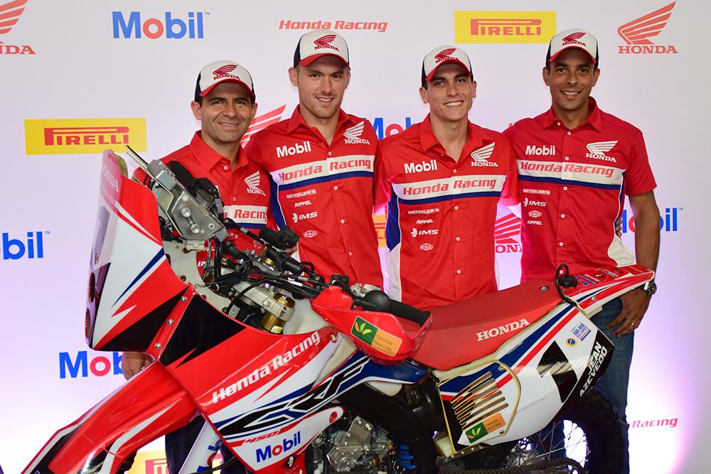 Pilotos oficiais da Honda no Rally e no Enduro, para a temporada 2015
