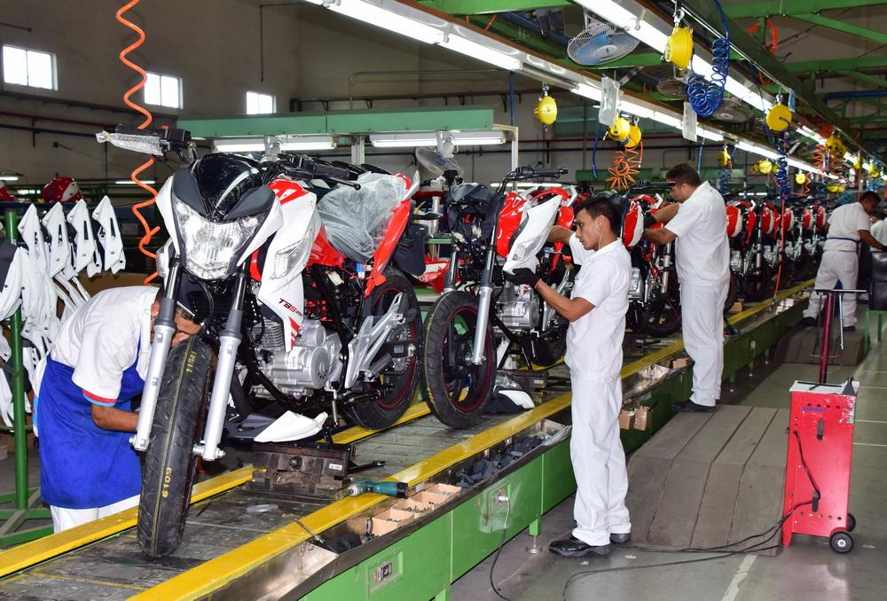 Fábrica daMoto Traxx em Manaus