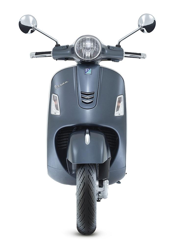 Vespa GTS 300 cc cinza frante_1000
