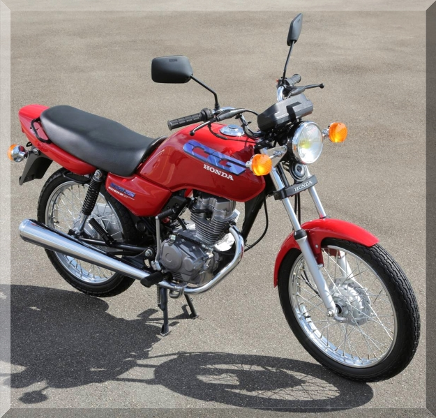 1995 - Modelo exportação vinha com capa integral para corrente, farol e piscas redondos. Foi exportada para França, Inglaterra e Portugal. O motor continuou o de 124 cc com 12,5 cv.