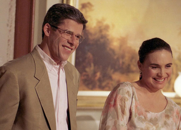 """José Mayer e Regina Duarte em """"História de Amor"""" (Foto: Divulgação/TV Globo)"""