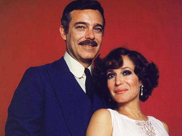 Rúbens de Falco e Susana Vieira em