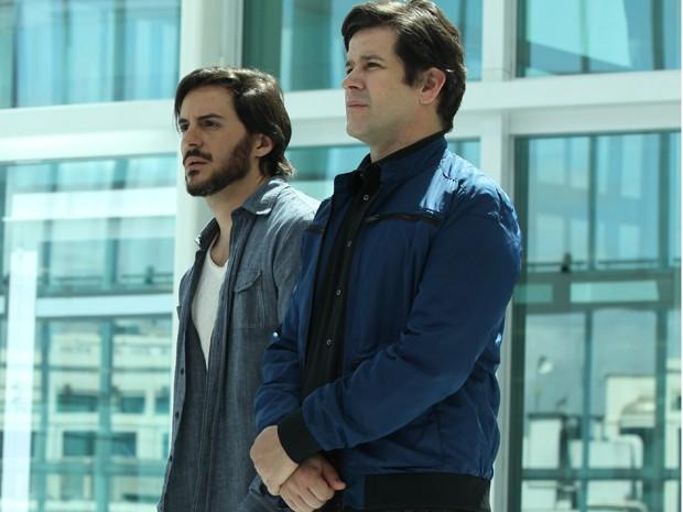 Ricardo Tozzi e Murilo Benício (Foto: Carol Caminha/Gshow)