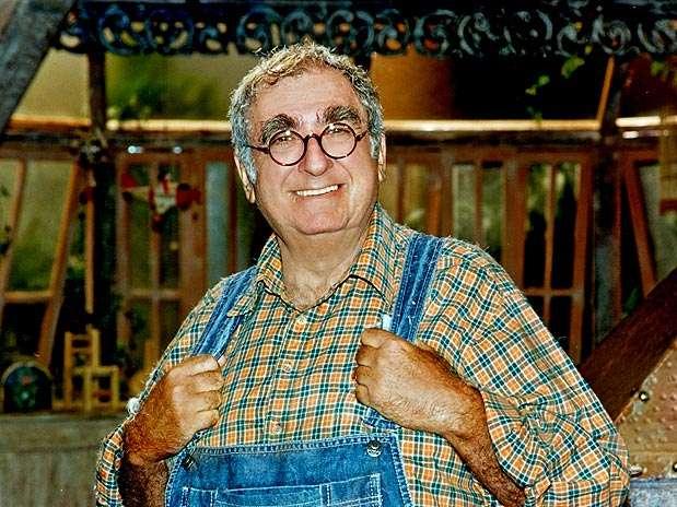 Elias Gleizer como o Vovô Pepe em