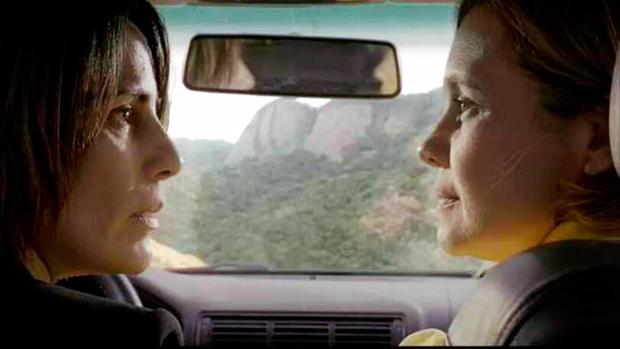 Glória Pires (Beatriz) e Adriana Esteves (Ines) (Foto: Reprodução)