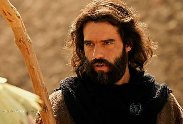 Guilherme Winter como Moisés em