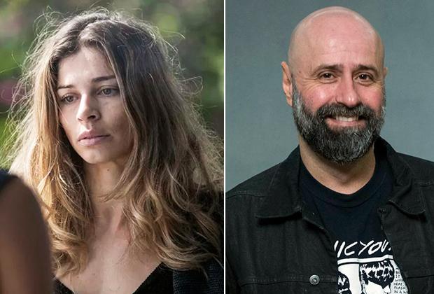 Grazi Massafera (atriz) e Mauro Mendonça Filho (diretor) de