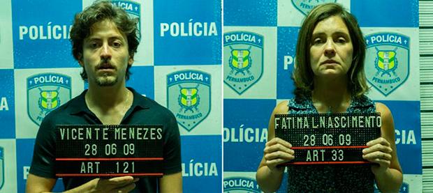 Jesuíta Barbosa / Adriana Esteves (Foto: Ellen Soares/Gshow)