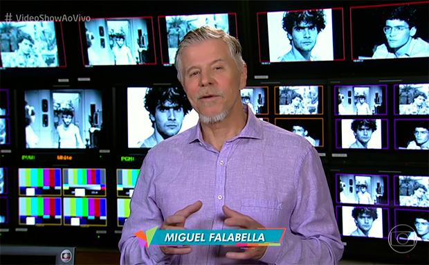 Miguel Falabella apresenta o quadro