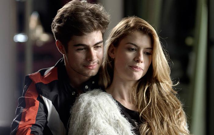 Rafael Vitti e Alinne Moraes (Foto: divulgação/TV Globo)