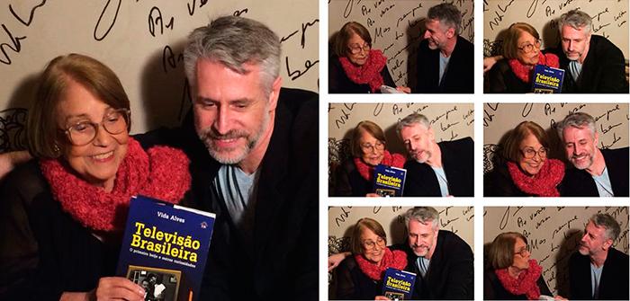 No lançamento de seu livro, em abril de 2014