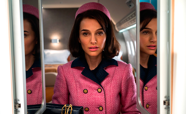 Natalie Portman como Jacqueline Kennedy (Foto: divulgação)
