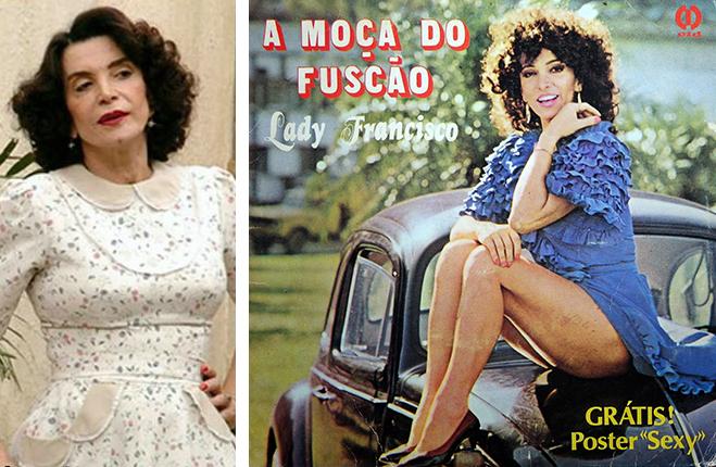 Morre, aos 84 anos, Lady Francisco, atriz popular no cinema