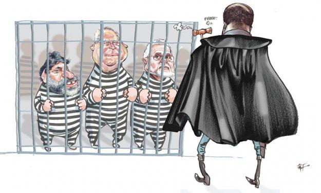 Presos políticos vestidos de políticos presos!