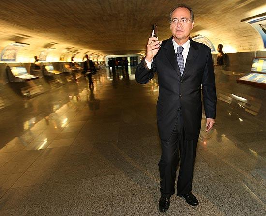 Renan trata Dilma na base do morde-e-assopra