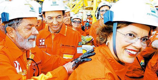 Ruína da Petrobras tem nome(s): Lula e Dilma