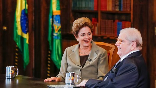 No Jô, Dilma atinge nirvana autocongratulatório