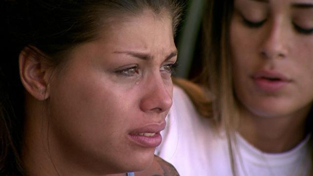 Franciele já chorou baldes no BBB14