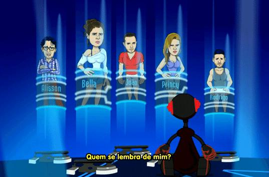 Big Esculacho Brasil (Foto: Reprodução/TvGlobo)