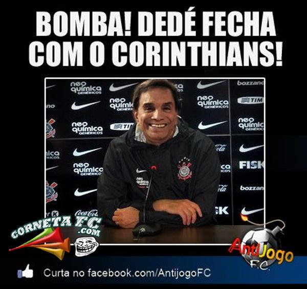 27f7e216bcc8ad Dedé fecha com o Corinthians - Corneta FC - UOL