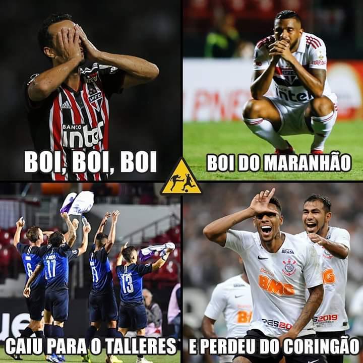 São Paulo Perde Para O Corinthians E Internautas Não