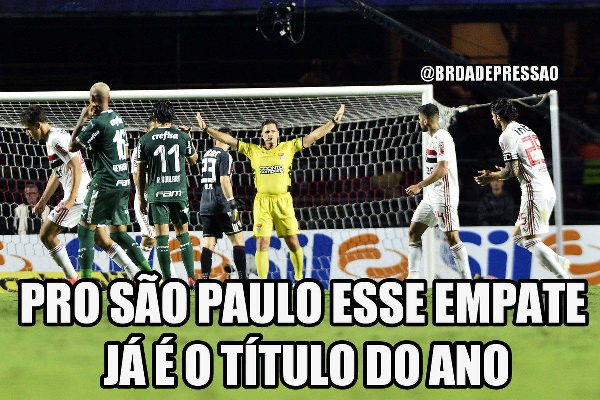 Empate Entre São Paulo E Palmeiras Rende Memes Na Web