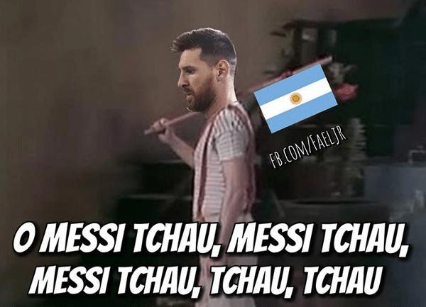 Messi Tchau Argentina Perde Para O Brasil E Memes Bombam