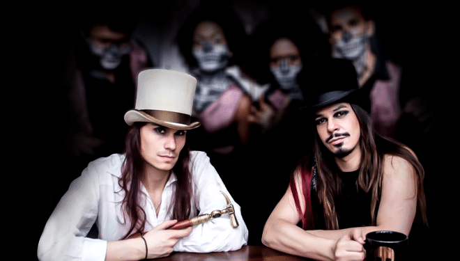 Os cantores Thiago Casarejos e Lio Júnior foram o MadHouse (Divulgação)