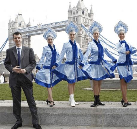 Mikhail Prokhorov em Londres