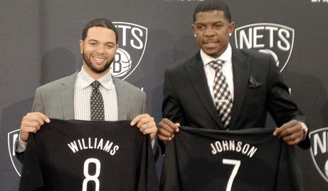 Deron Williams e Joe Johnson – Brooklyn Nets